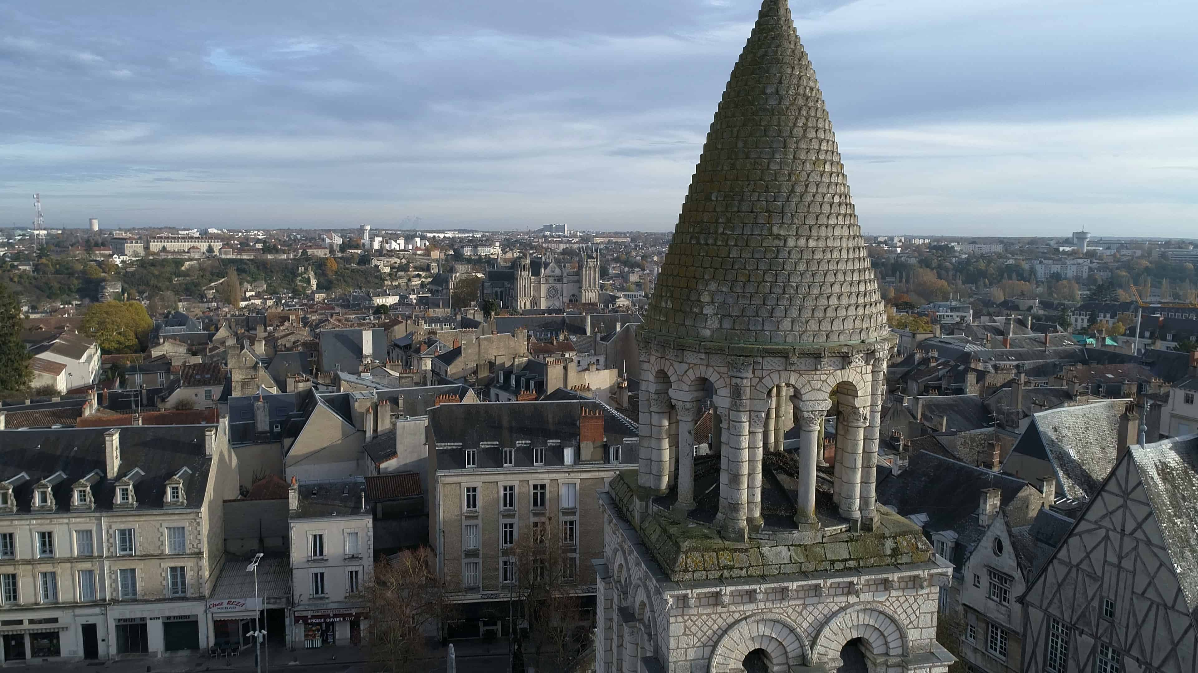 Photos par drone de Grand Poitiers