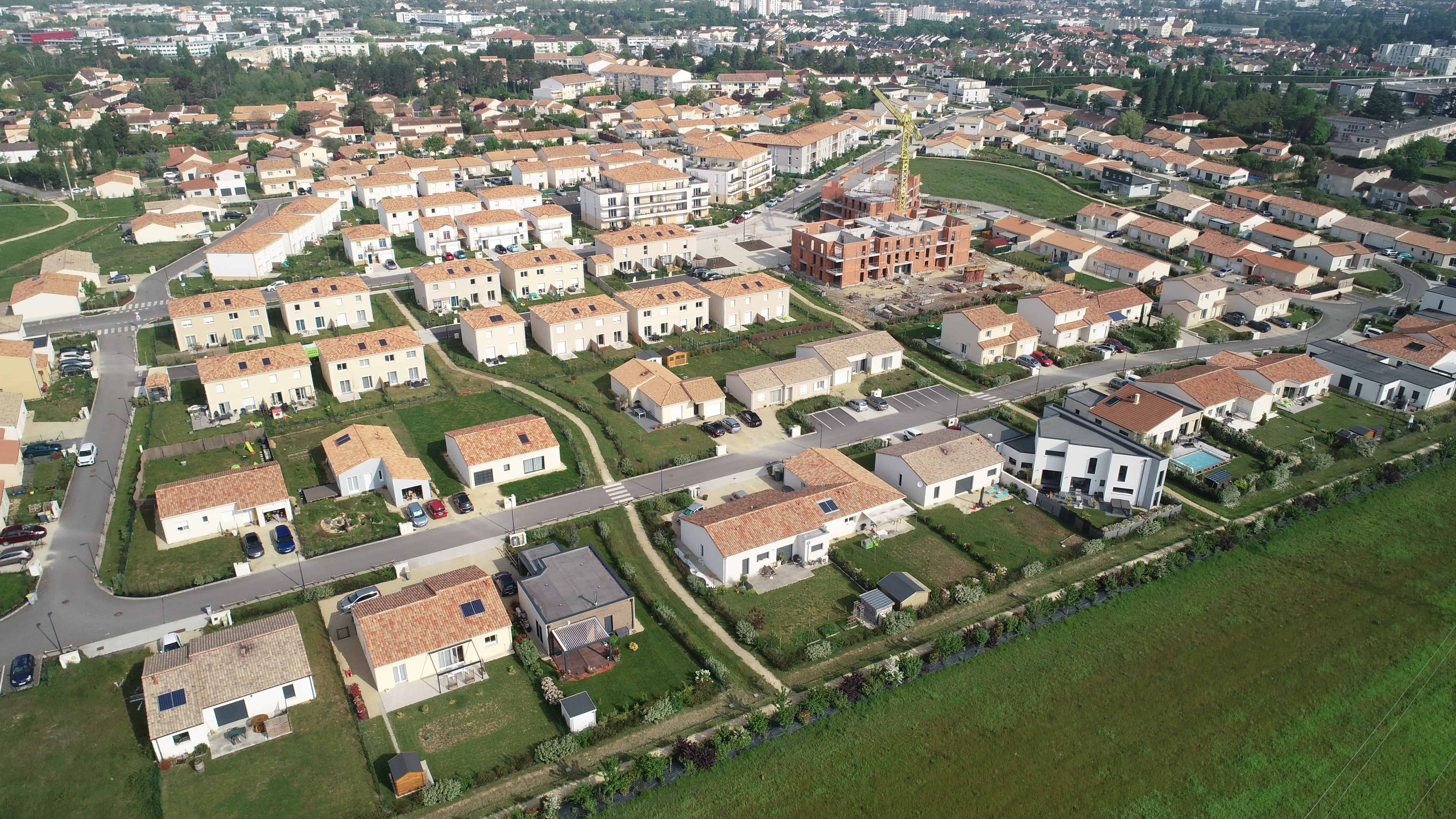 Photos de projets immobilier de l'entreprise Nexity en Poitou-Charentes.